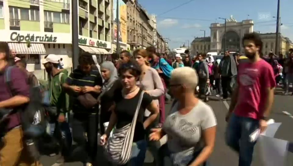 Marsch in Ungarn (unkommentiert)