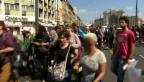 Video «Marsch in Ungarn (unkommentiert)» abspielen