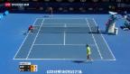 Video «Roger Federer scheitert in Melbourne an Andreas Seppi» abspielen