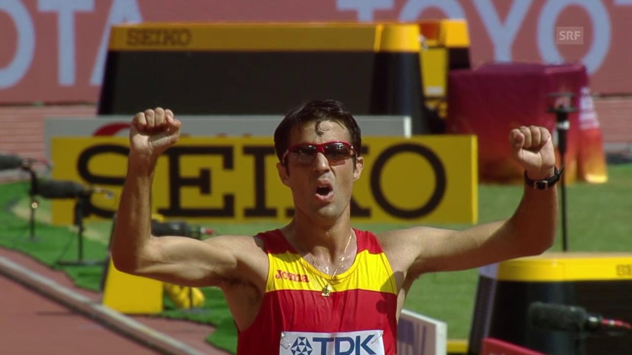 LA-WM: Lopez Weltmeister über 20 km Gehen