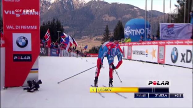 Video «Die letzte Etappe der Tour de Ski» abspielen