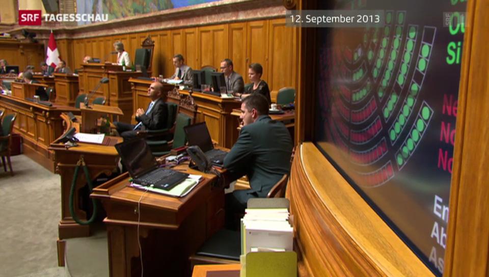 Im Parlament sind die Fronten klar