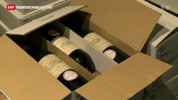 Video ««Le président» räumt den Weinkeller.» abspielen