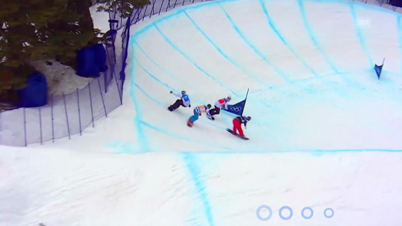 Sotschi: Erklärung Snowboard Cross