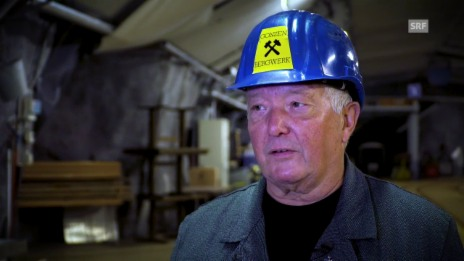 Video «Zeugen der Zeit im Bergwerk Gonzen» abspielen