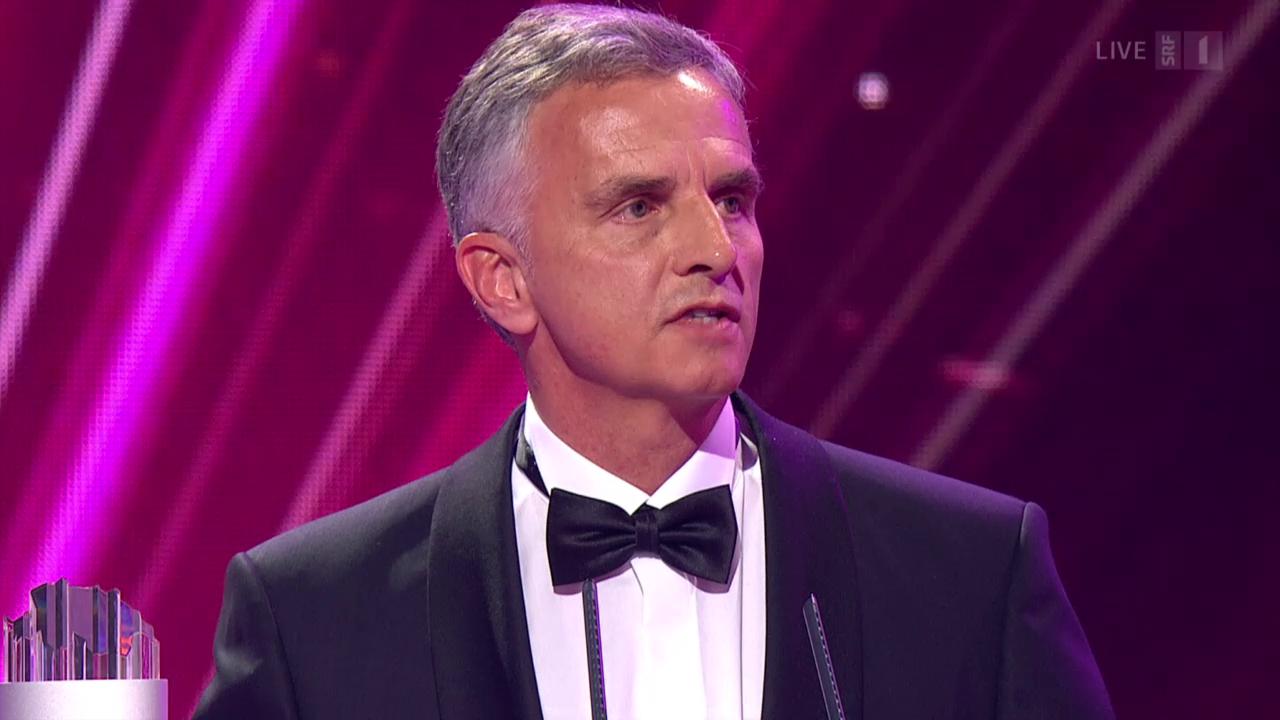 Didier Burkhalter - Gewinner Kategorie Politik