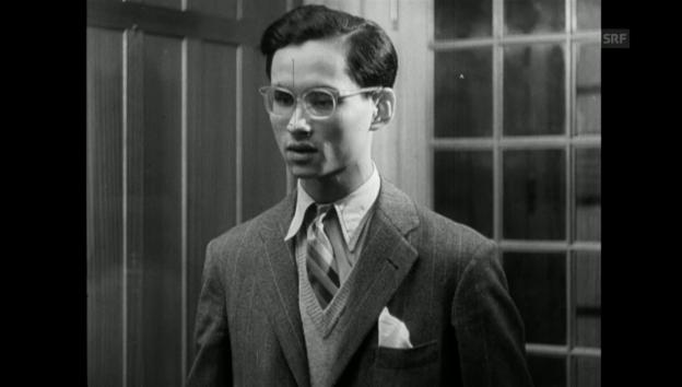 Video «Ausschnitt «Schweizer Filmwochenschau» (3.3.1950)» abspielen
