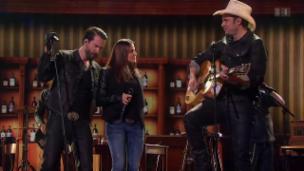 Video «Starduett mit The BossHoss und Isabelle Rettenmund» abspielen