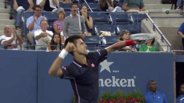 Video «Tennis: Djokovic schlägt Murray im Viertelfinal» abspielen