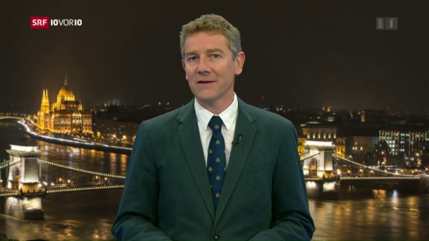 Video «Liveschaltung zu Korrespondent Peter Balzli nach Budapest» abspielen