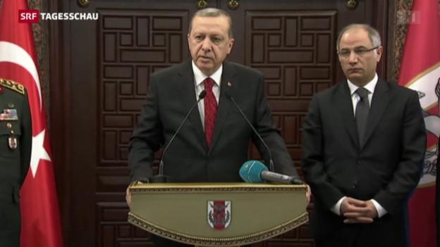 Video «Türkei beschuldigt YPG» abspielen