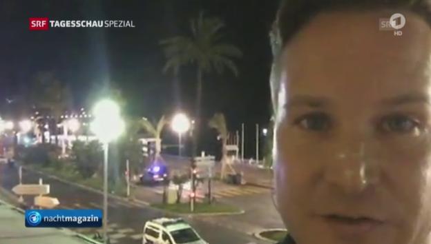 Video «Augenzeuge Richard Gutjahr aus Nizza» abspielen