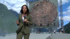Video «Die schönsten Bilder der Gotthard-Eröffnung» abspielen