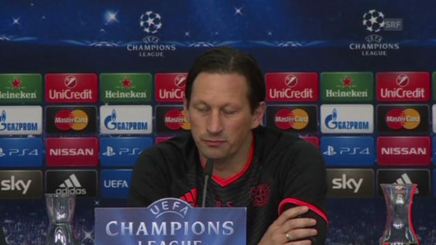 Video «Fussball: CL, vor Leverkusen-Zenit» abspielen