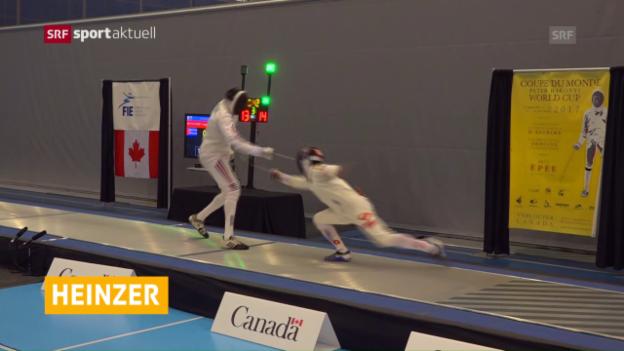 Video «Schweizer Jubel in Kanada» abspielen