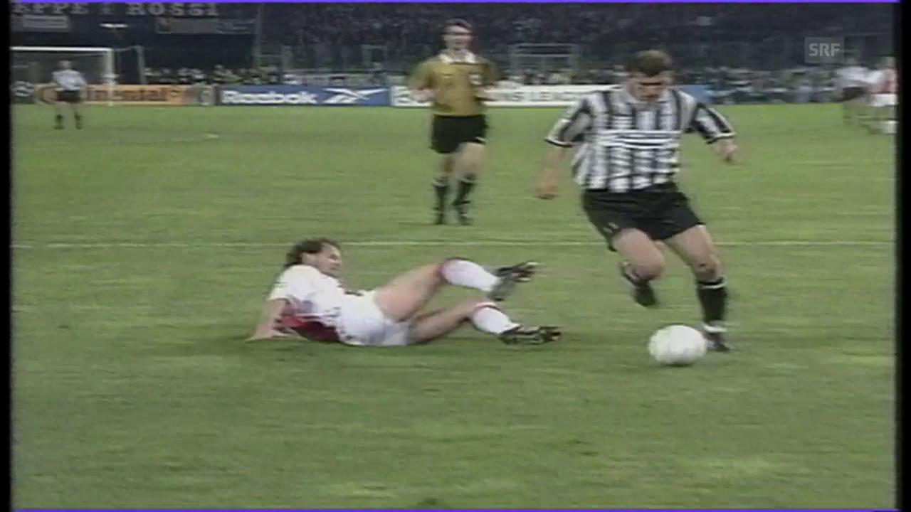 Zinedine Zidane wird 1998 Weltfussballer des Jahres