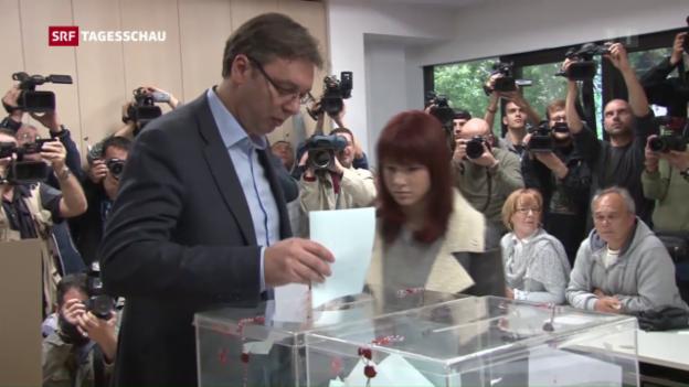 Video «Wahlen in Serbien» abspielen