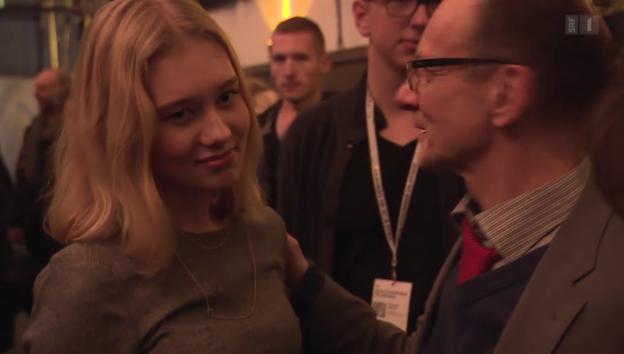 Video «Gekürt: Schülerin Rabea Egg ist beste Hauptdarstellerin» abspielen