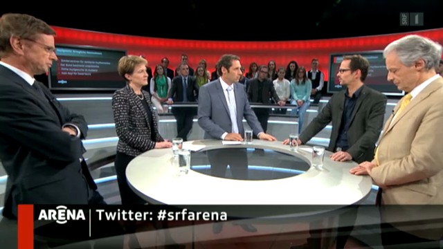 SRF-Arena zur Asylgesetz-Revision