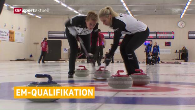 Video «Flims und Genf an die Curling-EM» abspielen