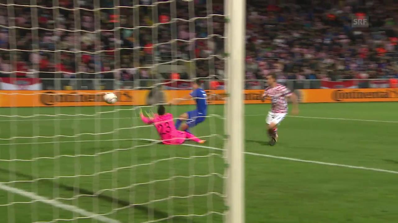 Kroatien kassiert in letzter Minute den Ausgleich gegen Finnland