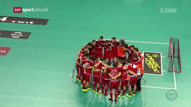 Video «Schweiz mit Kantersieg gegen Deutschland» abspielen