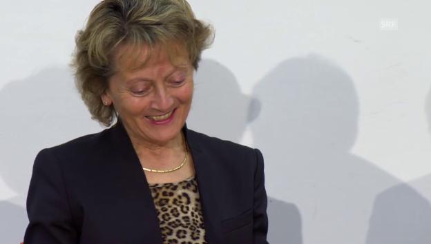 Video «Eveline Widmer-Schlumpf: «Ist das eine ernsthafte Frage?»» abspielen