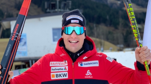 Livio Bieler suenter l'ultima cursa da la carriera