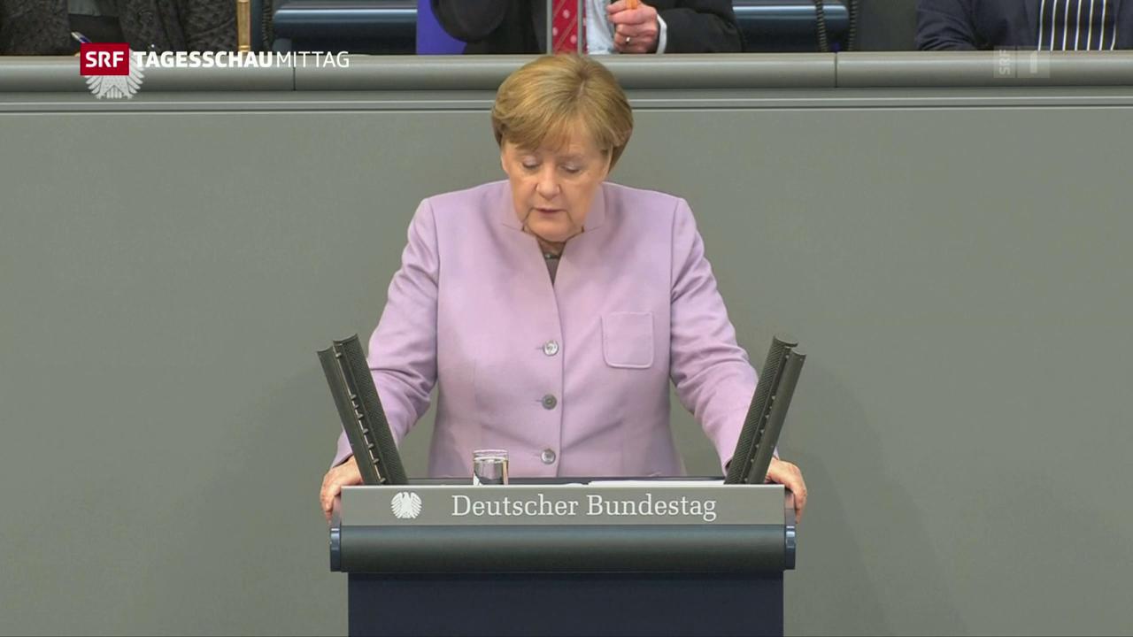 Merkel gibt harten Kurs vor