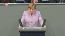 Video «Merkel gibt harten Kurs vor» abspielen