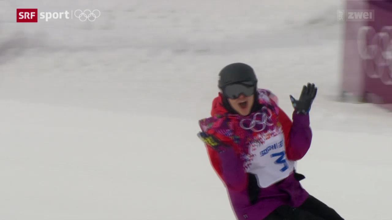 Snowboard: Slopestyle Frauen