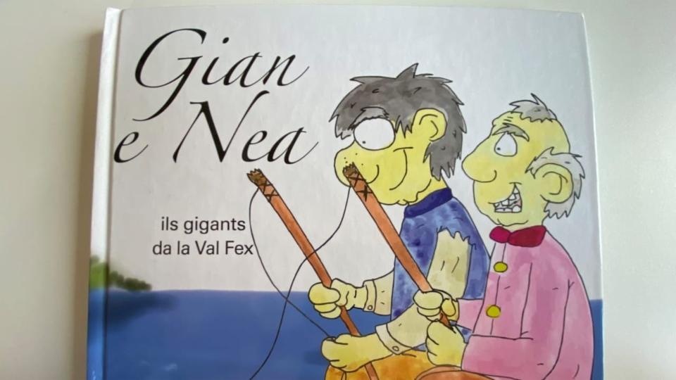 Il cudesch da Gian e Nea ha chattà buna accoglientscha