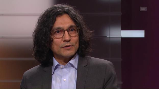 Video «Abbas Poya, islamischer Theologe, über Engel im Islam» abspielen