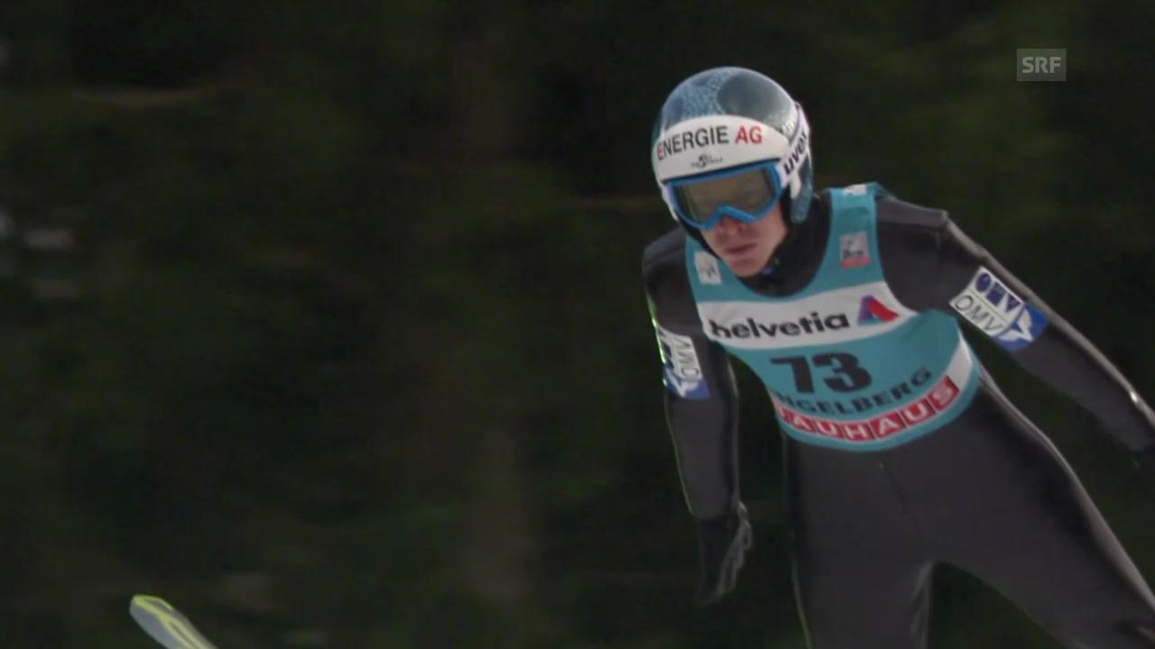 Skispringen: Weltcup, Engelberg, 2. Sprung Hayböck
