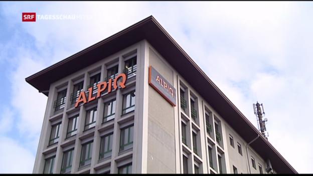 Video «Alpiq schreibt 2016 wieder Gewinn» abspielen