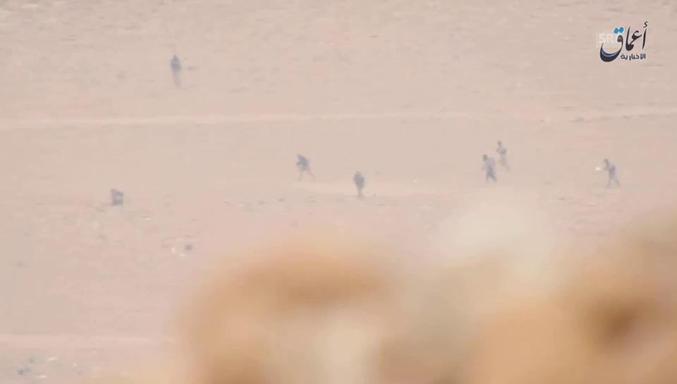Vorstoss der IS-Kämpfer am 10. Dezember