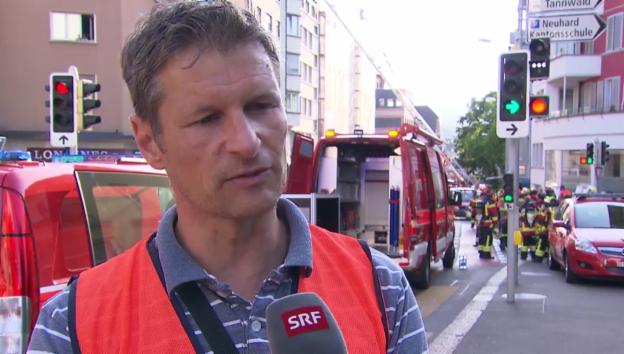 Video «Die Kapo Solothurn über den Brand» abspielen