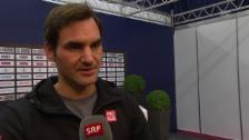 Link öffnet eine Lightbox. Video Federer: «Hoffe auf eine Explosion» abspielen