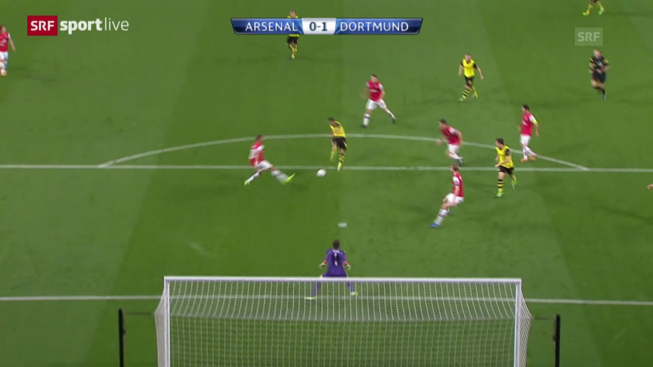 CL: Arsenal - Dortmund