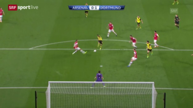 Video «CL: Arsenal - Dortmund» abspielen