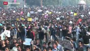 Video «Todesstrafe wegen tödlicher Vergewaltigung in Indien» abspielen