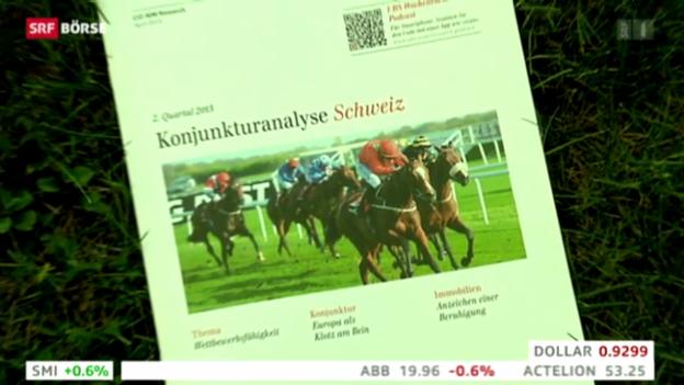 Video «SRF Börse vom 18.04.2013» abspielen