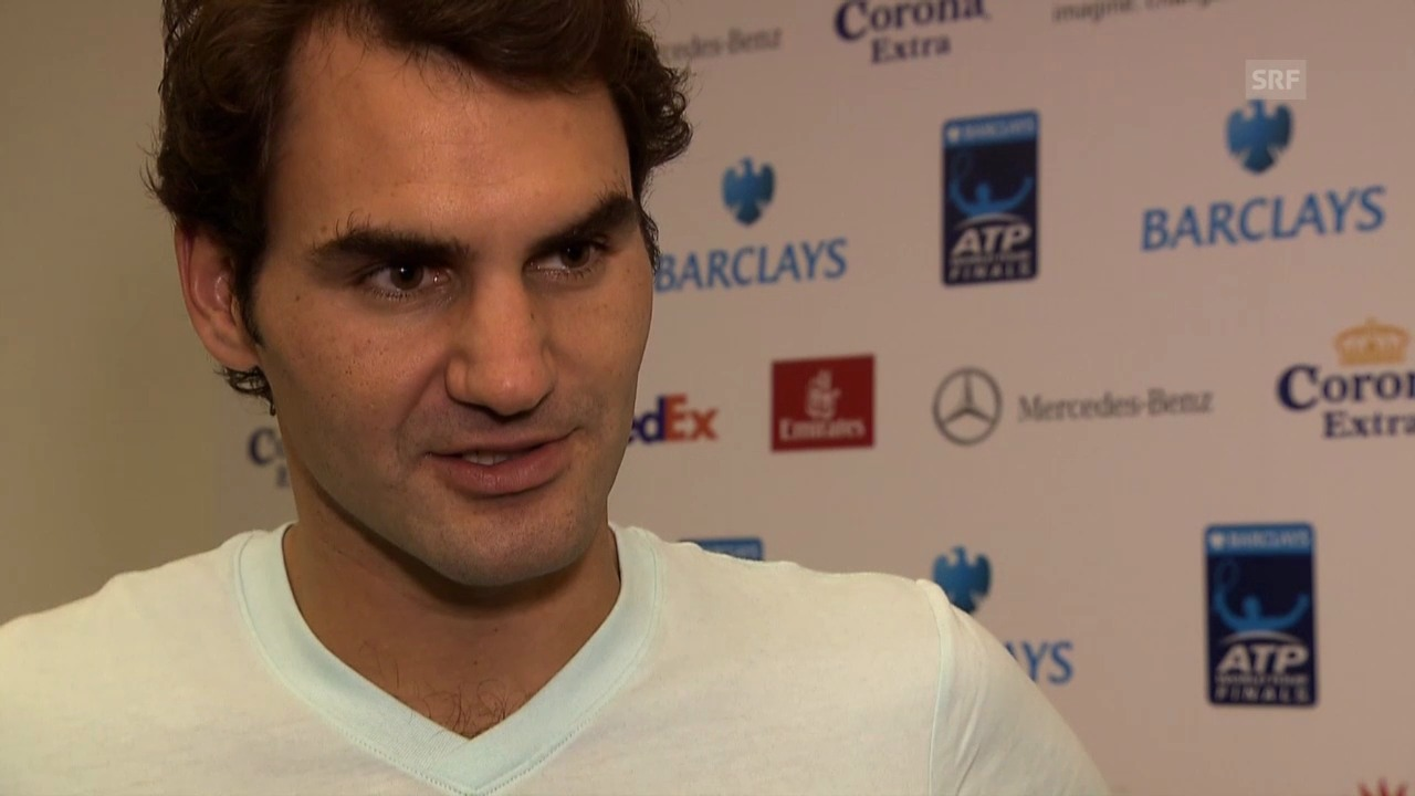 Tennis: Interview mit Roger Federer