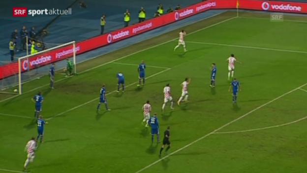 Video «WM-Barrage: Kroatien - Island» abspielen