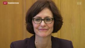 Video «Premiere – Frau wird Chefin von Economiesuisse» abspielen