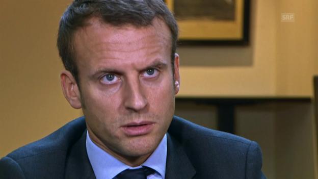 Video «Wer ist Emmanuel Macron?» abspielen