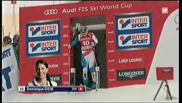 Ski alpin: Die Fahrt von Dominique Gisin («sportlive»)