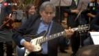 Video «Erster Auftritt der Bundeshaus-Band» abspielen