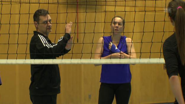 Video «Trainer Terzic verlässt Volero» abspielen
