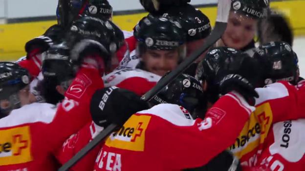 Video «Eishockey: Testländerspiel Schweiz-Schweden» abspielen